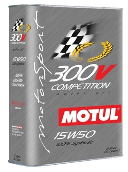 "300V 15W50 ""COMPETITION"" (2 liter can) (Motul 000725)"