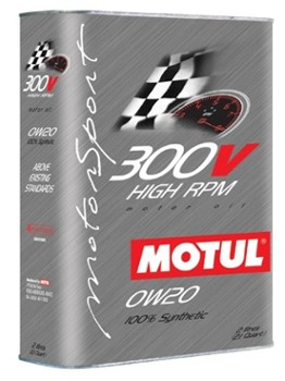 "300V 0w20 ""High RPM"" (2 liter Can) (Motul 824521)"
